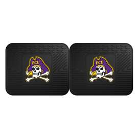 East Carolina University  2 Utility Mats Rug Carpet Mat