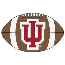 Indiana University  Football Mat Mat Rug Carpet