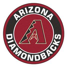 "MLB - Arizona Diamondbacks Roundel Mat 27"" diameter  Roundel Mat"