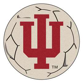 Indiana University  Soccer Ball Mat, Rug , Carpet