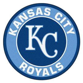 "MLB - Kansas City Royals Roundel Mat 27"" diameter  Roundel Mat"
