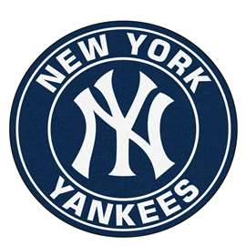 "MLB - New York Yankees Roundel Mat 27"" diameter  Roundel Mat"