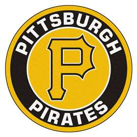"MLB - Pittsburgh Pirates Roundel Mat 27"" diameter  Roundel Mat"