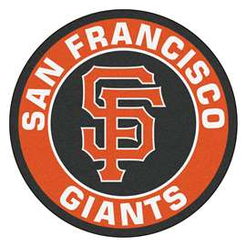 "MLB - San Francisco Giants Roundel Mat 27"" diameter  Roundel Mat"