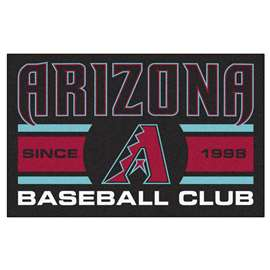 "Arizona Diamondbacks Baseball Club Starter Rug 19""x30""  Starter Mat"