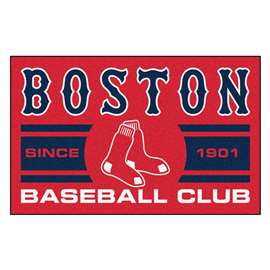 "Boston Red Sox Baseball Club Starter Rug 19""x30""  Starter Mat"