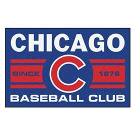 "Chicago Cubs Baseball Club Starter Rug 19""x30""  Starter Mat"