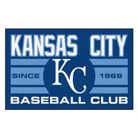 "Kansas City Royals Baseball Club Starter Rug 19""x30""  Starter Mat"