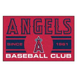"Los Angeles Angels Baseball Club Starter Rug 19""x30""  Starter Mat"