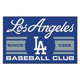 "Los Angeles Dodgers Baseball Club Starter Rug 19""x30""  Starter Mat"