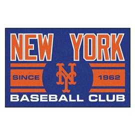"New York Mets Baseball Club Starter Rug 19""x30""  Starter Mat"