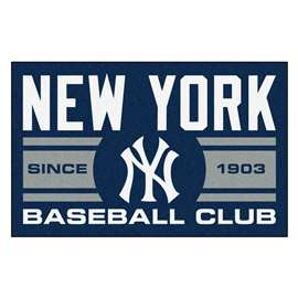 "New York Yankees Baseball Club Starter Rug 19""x30""  Starter Mat"