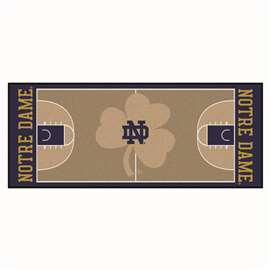 Notre Dame  NCAA Basketball Runner Mat, Carpet, Rug