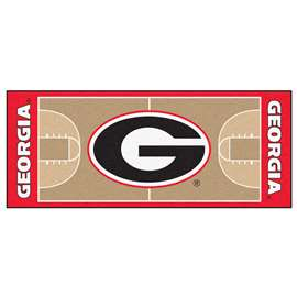 University of Georgia  NCAA Basketball Runner Mat, Carpet, Rug