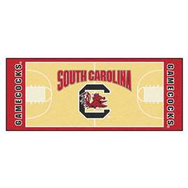 University of South Carolina  NCAA Basketball Runner Mat, Carpet, Rug