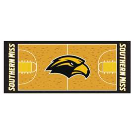 University of Southern Mississippi  NCAA Basketball Runner Mat, Carpet, Rug
