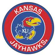 University of Kansas  Roundel Mat Mat, Rug , Carpet
