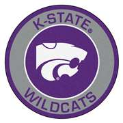 Kansas State University  Roundel Mat Mat, Rug , Carpet