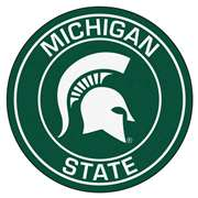 Michigan State University  Roundel Mat Mat, Rug , Carpet