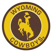 University of Wyoming  Roundel Mat Mat, Rug , Carpet