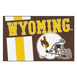 University of Wyoming  Starter Mat Mat, Rug , Carpet