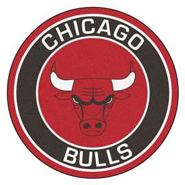 NBA - Chicago Bulls  Roundel Mat Mat, Rug , Carpet