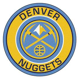 NBA - Denver Nuggets  Roundel Mat Mat, Rug , Carpet