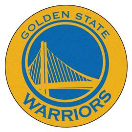 NBA - Golden State Warriors  Roundel Mat Mat, Rug , Carpet