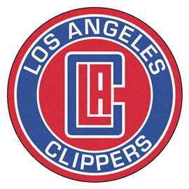 NBA - Los Angeles Clippers  Roundel Mat Mat, Rug , Carpet