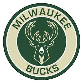 NBA - Milwaukee Bucks  Roundel Mat Mat, Rug , Carpet