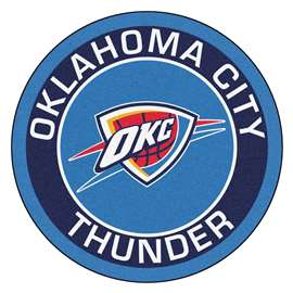 NBA - Oklahoma City Thunder  Roundel Mat Mat, Rug , Carpet