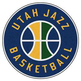 NBA - Utah Jazz  Roundel Mat Mat, Rug , Carpet
