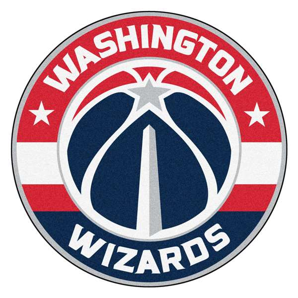 NBA - Washington Wizards  Roundel Mat Mat, Rug , Carpet