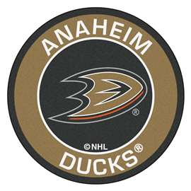 "NHL - Anaheim Ducks Mat, Rug , Carpet 27"" diameter"