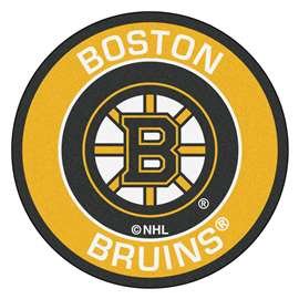 "NHL - Boston Bruins Mat, Rug , Carpet 27"" diameter"