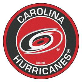"NHL - Carolina Hurricanes Mat, Rug , Carpet 27"" diameter"