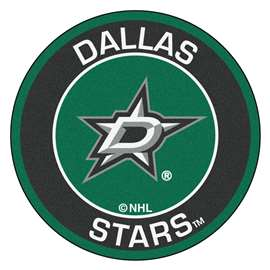 "NHL - Dallas Stars Mat, Rug , Carpet 27"" diameter"