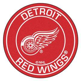 "NHL - Detroit Red Wings Mat, Rug , Carpet 27"" diameter"