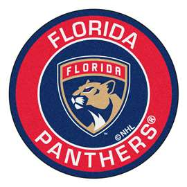 "NHL - Florida Panthers Mat, Rug , Carpet 27"" diameter"