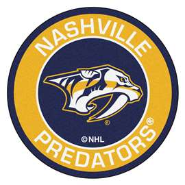 "NHL - Nashville Predators Mat, Rug , Carpet 27"" diameter"