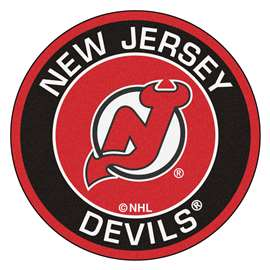 "NHL - New Jersey Devils Mat, Rug , Carpet 27"" diameter"
