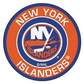 "NHL - New York Islanders Mat, Rug , Carpet 27"" diameter"