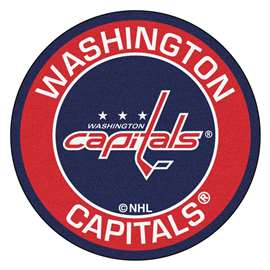 "NHL - Washington Capitals Mat, Rug , Carpet 27"" diameter"