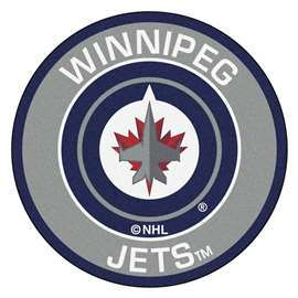 "NHL - Winnipeg Jets Mat, Rug , Carpet 27"" diameter"