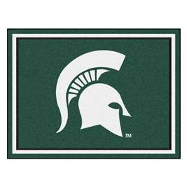 Michigan State University  8x10 Rug Rug Carpet Mats