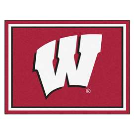 University of Wisconsin  8x10 Rug Rug Carpet Mats