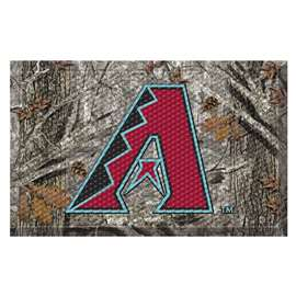 "MLB - Arizona Diamondbacks Scraper Mat 19""x30"" - Camo  Scraper Mat"