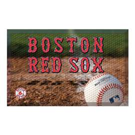 "MLB - Boston Red Sox Scraper Mat 19""x30"" - Ball  Scraper Mat"