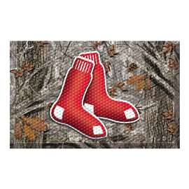 "MLB - Boston Red Sox Scraper Mat 19""x30"" - Camo  Scraper Mat"