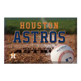 "MLB - Houston Astros Scraper Mat 19""x30"" - Ball  Scraper Mat"